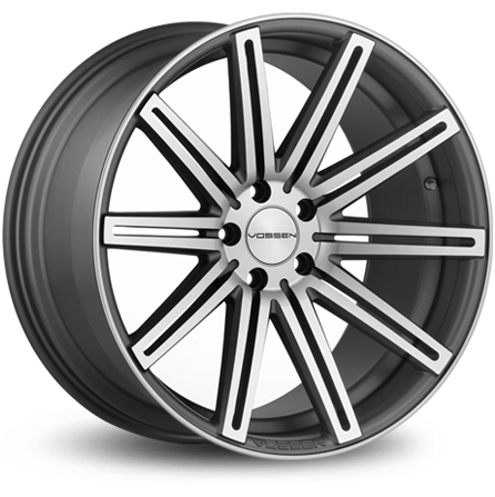 Vossen VVSCV4 - MATTE GRAPHITE MACHINED